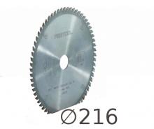 D 216 mm