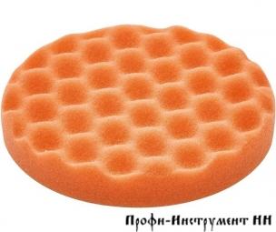 202370 Материал полировальный, губка средне-жёсткая, Оранжевая,  с вафельной поверхностью PS STF D150X30 OR/1 W