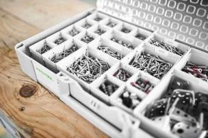 204864 Запасные боксы Box 150x300x68/2 для органайзера-систейнера Festool