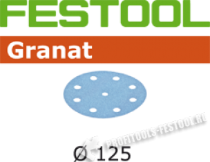 Шлифовальные круги Granat STF D125 90 P150, 100 шт