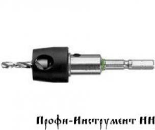 Сверло-зенкер с ограничителем глубины сверления BTA BSTA HS D 3,5 CE