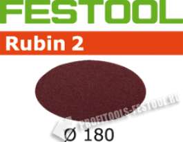 Шлифовальные круги Rubin2 STF D180 0 P40, 50 шт