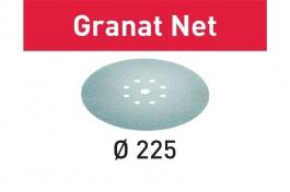 Шлифовальный материал на сетчатой основе Granat Net STF D225 P400 GR NET/25 Festool