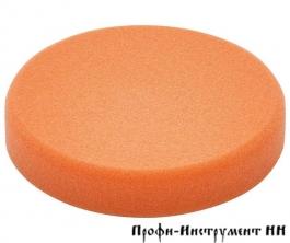 Материал полировальный, губка средне-жёсткая, Оранжевая  PS STF D150X30 OR/1