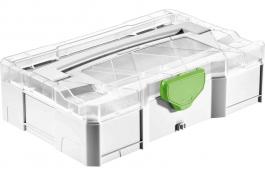203813 Контейнер Systainer Festool SYS-MINI 1 TL TRA T-LOC c  прозрачной крышкой