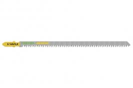 204264 Пильное полотно для лобзика с  углом заточки «японского зуба»S 145/2,8/5шт