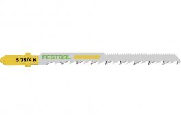 204266 Пильное полотно для лобзика для быстрого криволинейного резания S 75/4 K/20 шт