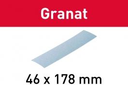 Мат.шлиф. Granat P 80, компл. из 10 шт. STF 46X178 P80 GR/10