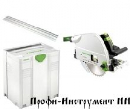 561512 Погружная пила  TS 75 EBQ-Plus-FS Festool