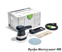 Эксцентриковая шлифовальная машинка ETS 150/3 EQ-Plus