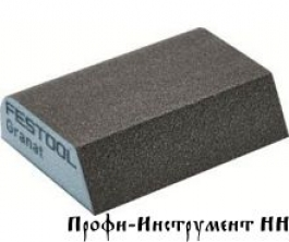 Губка шлиф. Granat 100 CO, комплект из 6 шт.  69x98x26 100 CO GR/6