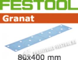 Шлифовальные круги Granat STF 80x400 P80, в уп.  50 шт