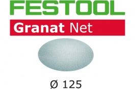 Шлифовальный материал на сетчатой основе Granat P80, компл. из 50 шт. STF D125 P80 GR NET/50